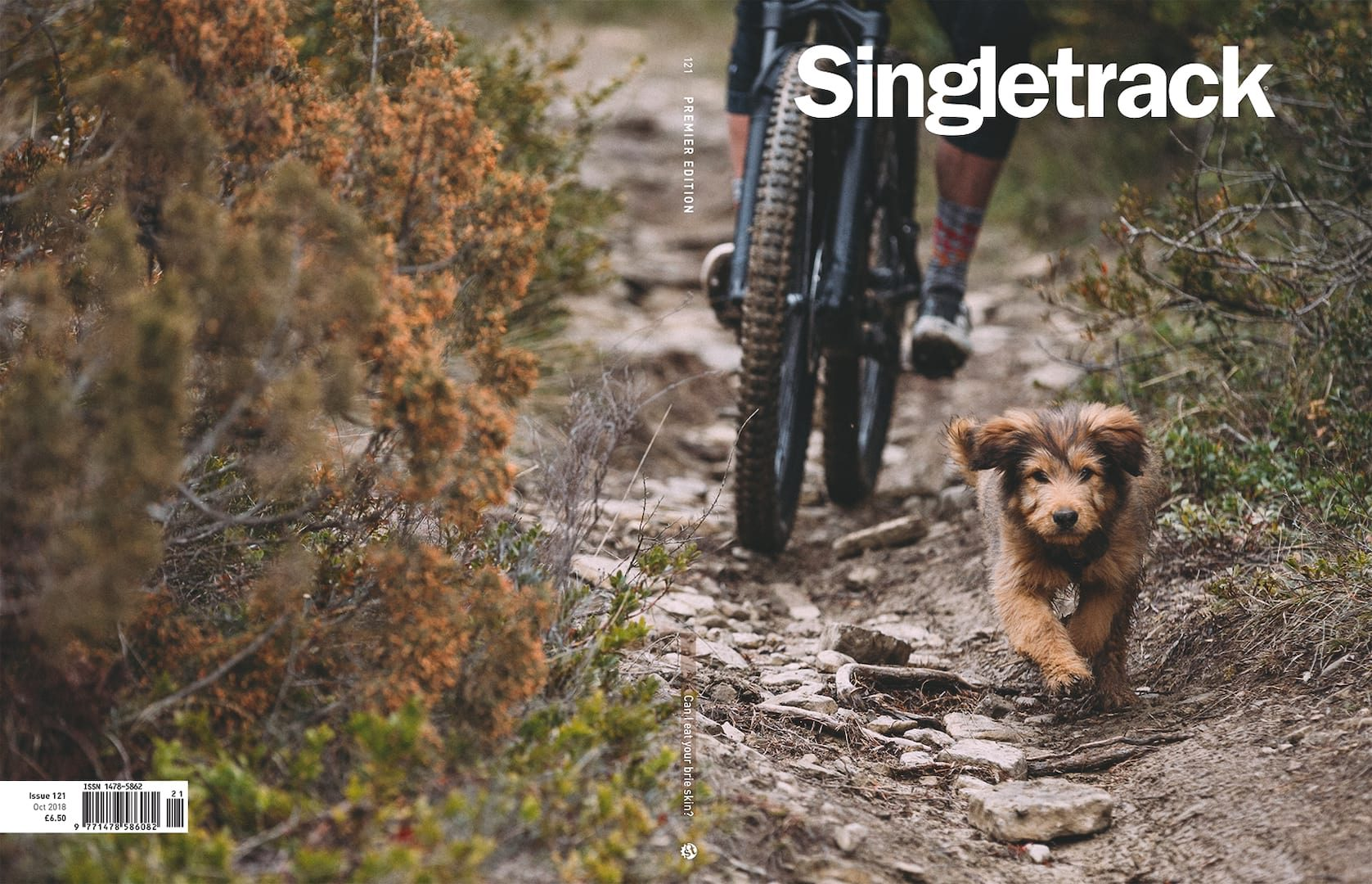 singletrack magazine cover 121