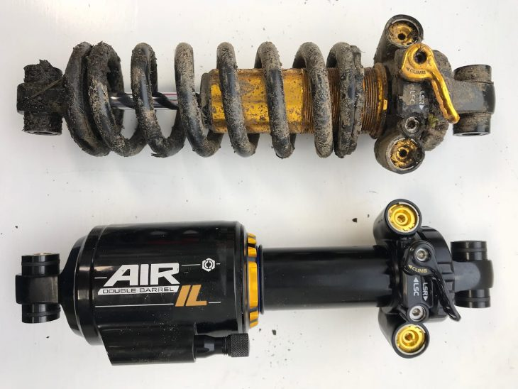 cane creek coil air shock
