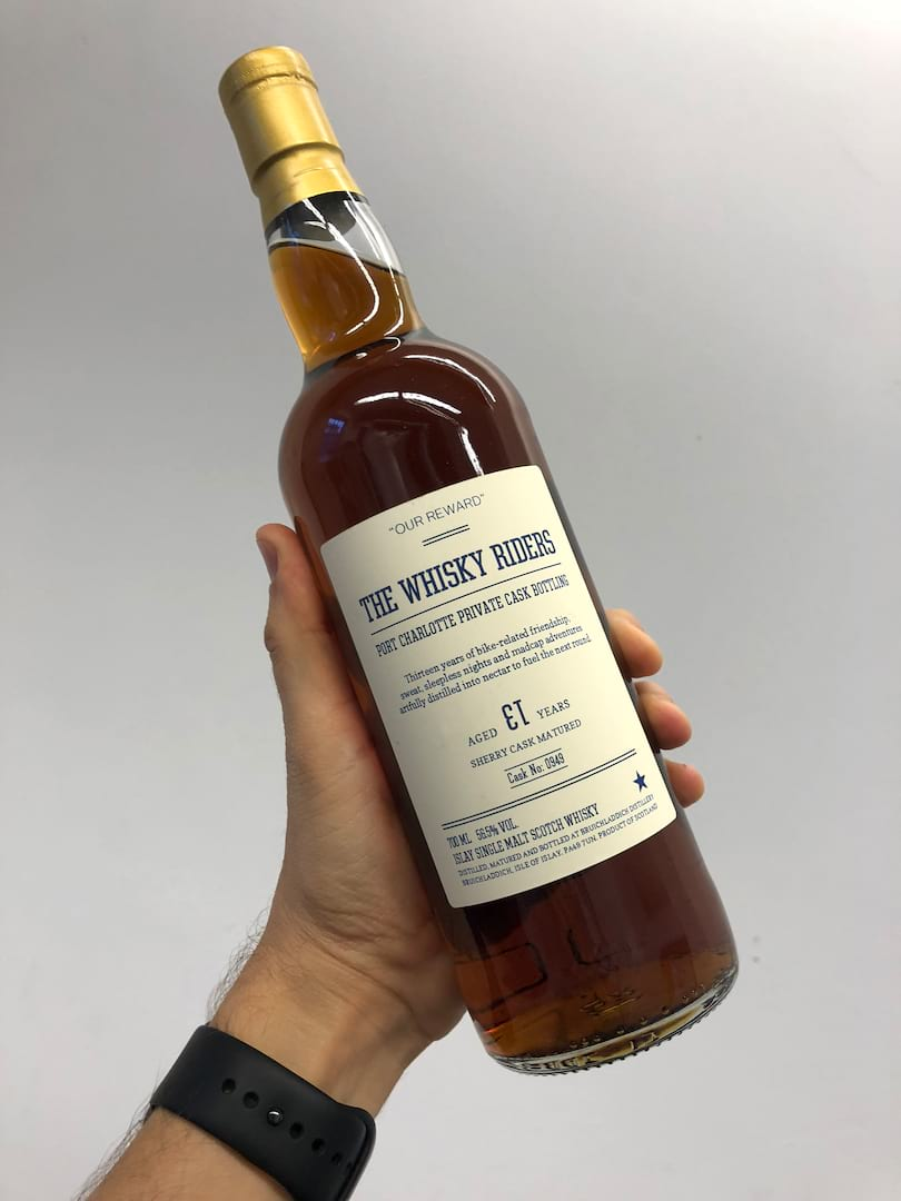 Whisky Riders Super Exclusive Bottle Auction For St  Gemma's Hospice