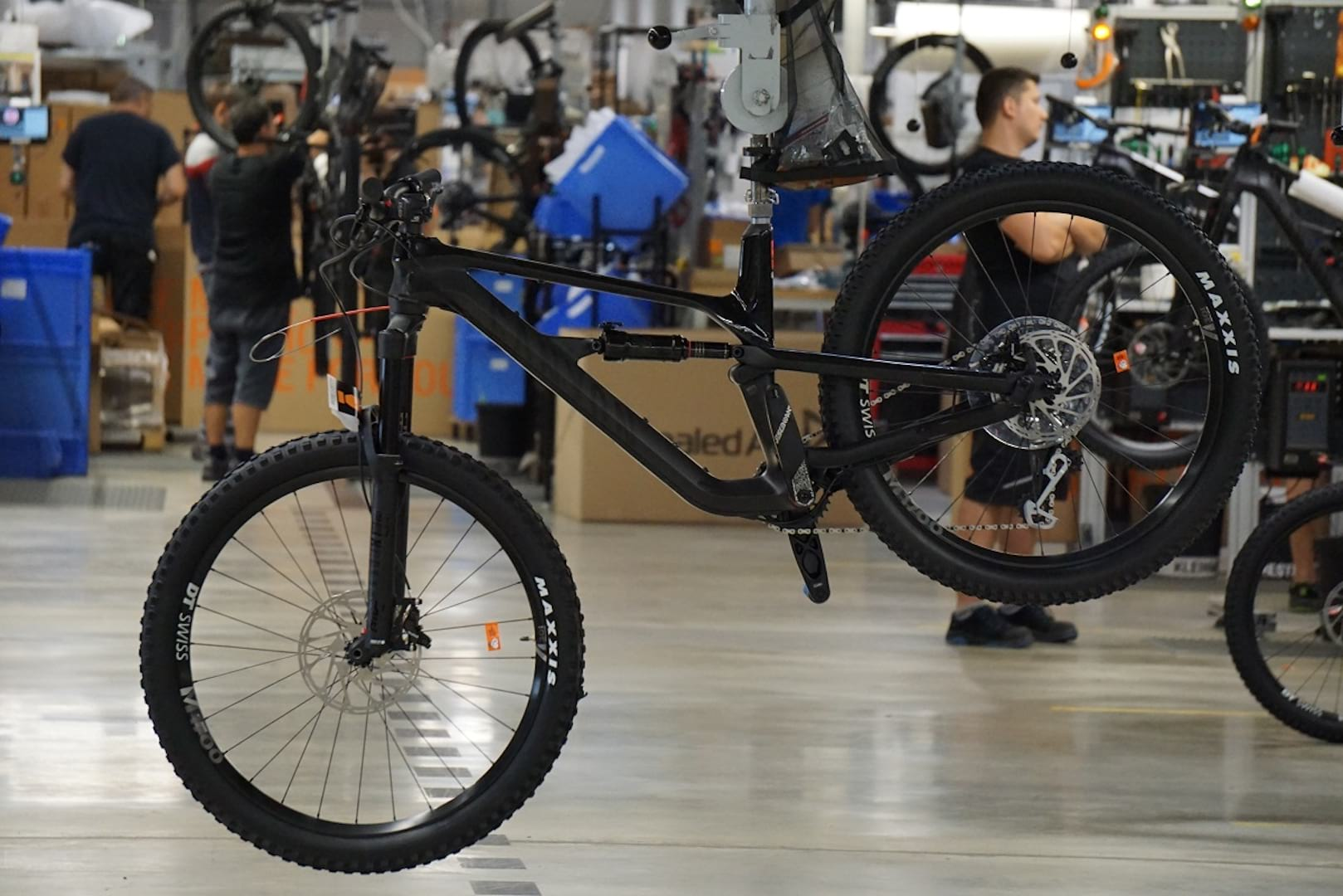 canyon bicycles factory tour singletrack magazine