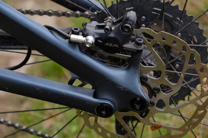 specialized stumpjumper st shimano slx brake disc rotor