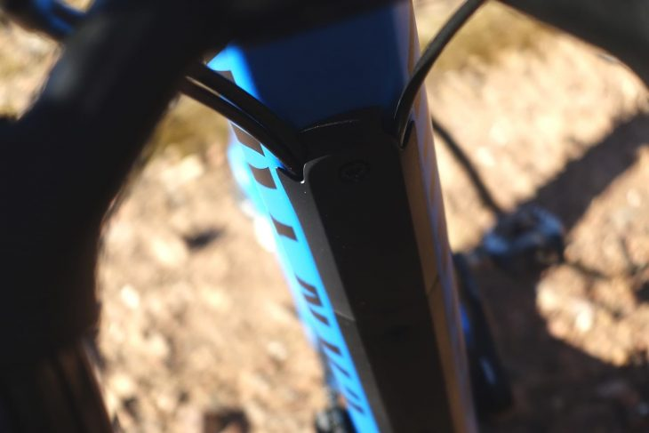 canyon cable routing