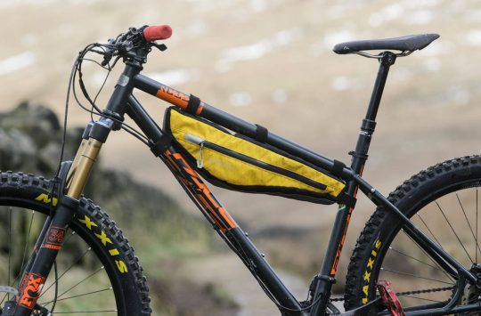 alpkit possum frame bag pace hardtail