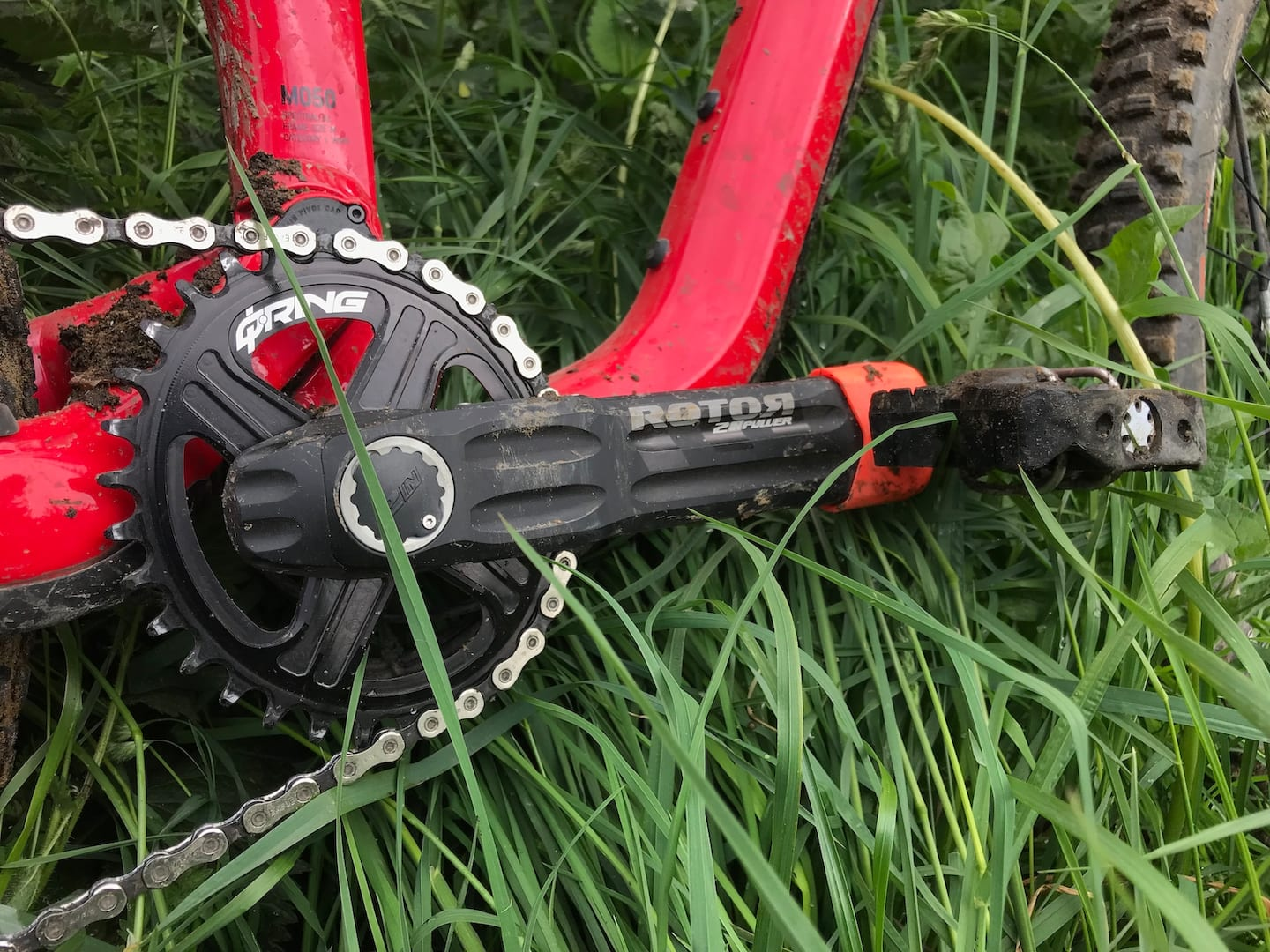 rotor crankset chainring power meter