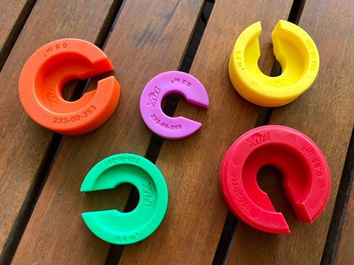 fox volume spacers candy pacman