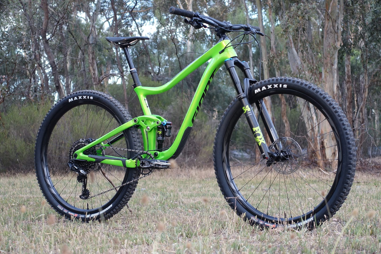 ad271ea4617 Is This 2019 Trance The Most Progressive Giant Mountain Bike Ever?