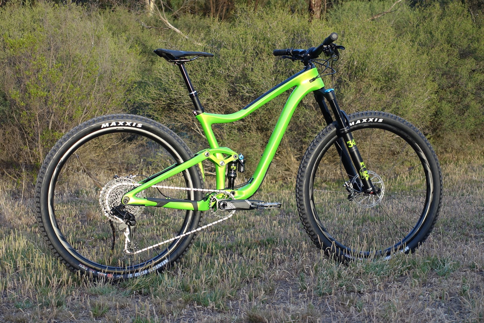 8aabc2e1408 Has Giant's latest 29er put you in a trance? Or are you definitely not green  with envy?