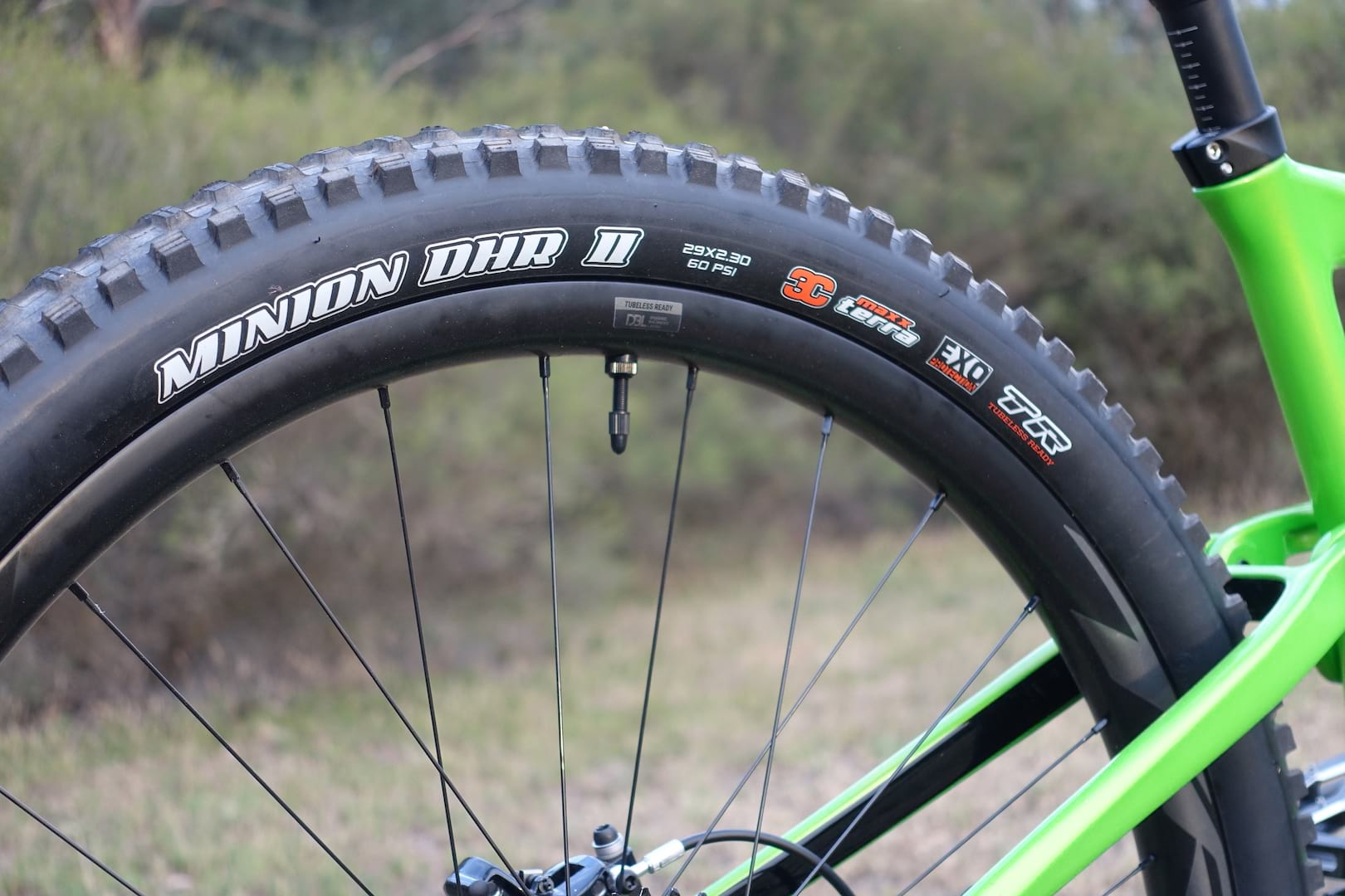 169d405e6b5 Triple rubber compound Maxxis Minion tyres feature front and rear on the  Trance. giant trance 29 dropper post. giant trance 29 dropper post