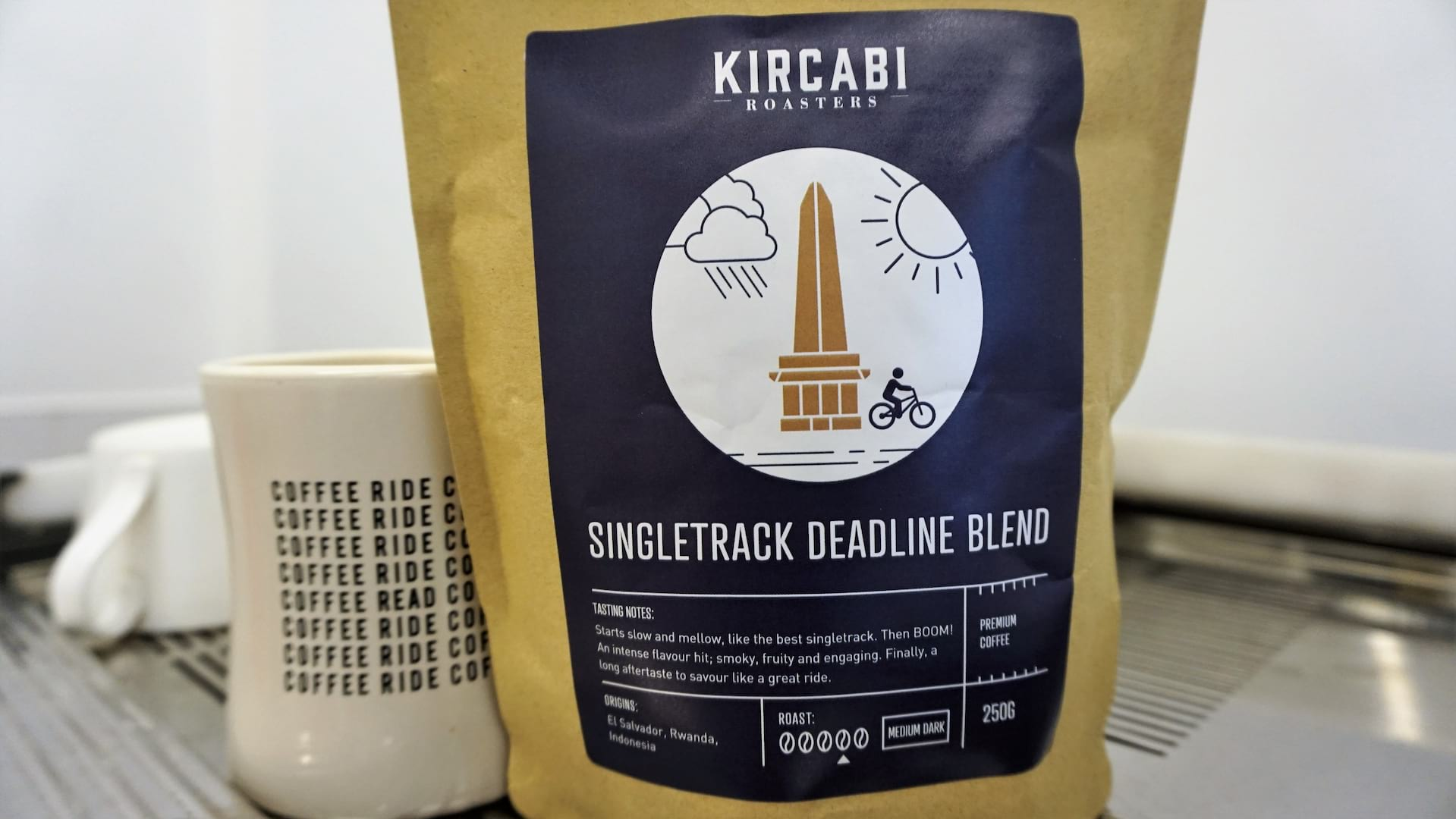 singletrack deadline blend coffee kircabi roasters