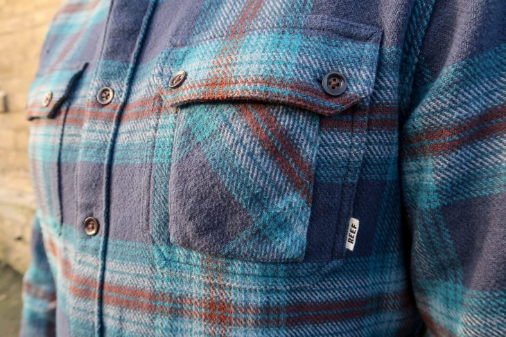 Reef Ice Dip 3 Shirt flannel checked shirt