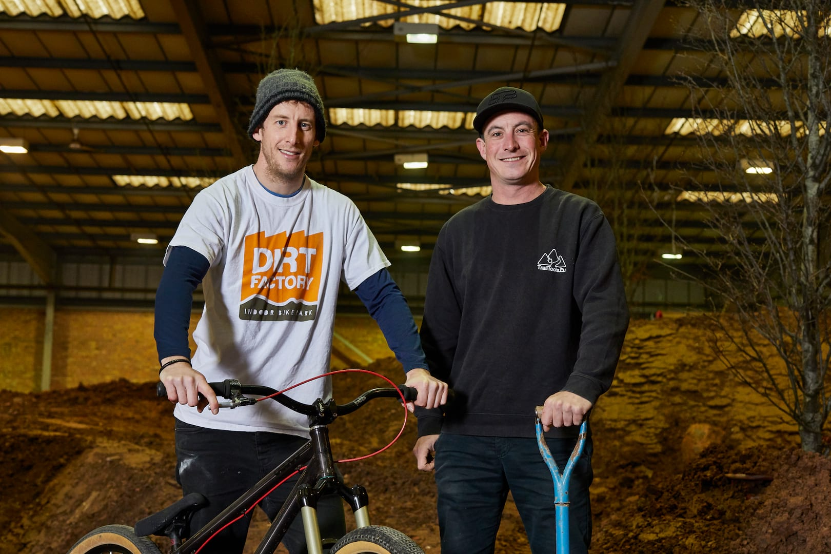 dirt factory indoor mtb park manchester