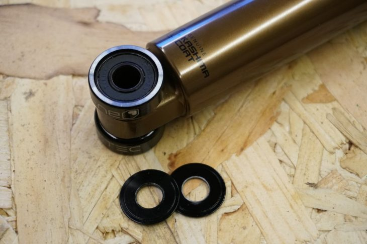burgtec bearing shock hardware