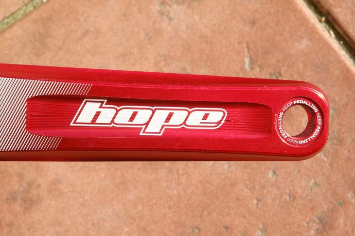 hope evo cranks singletrack