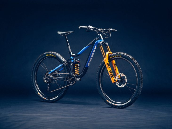 giant reign fox 36 coil giant factory race team singletrack magazine