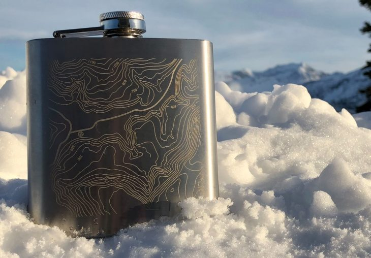 singletrack hip flask
