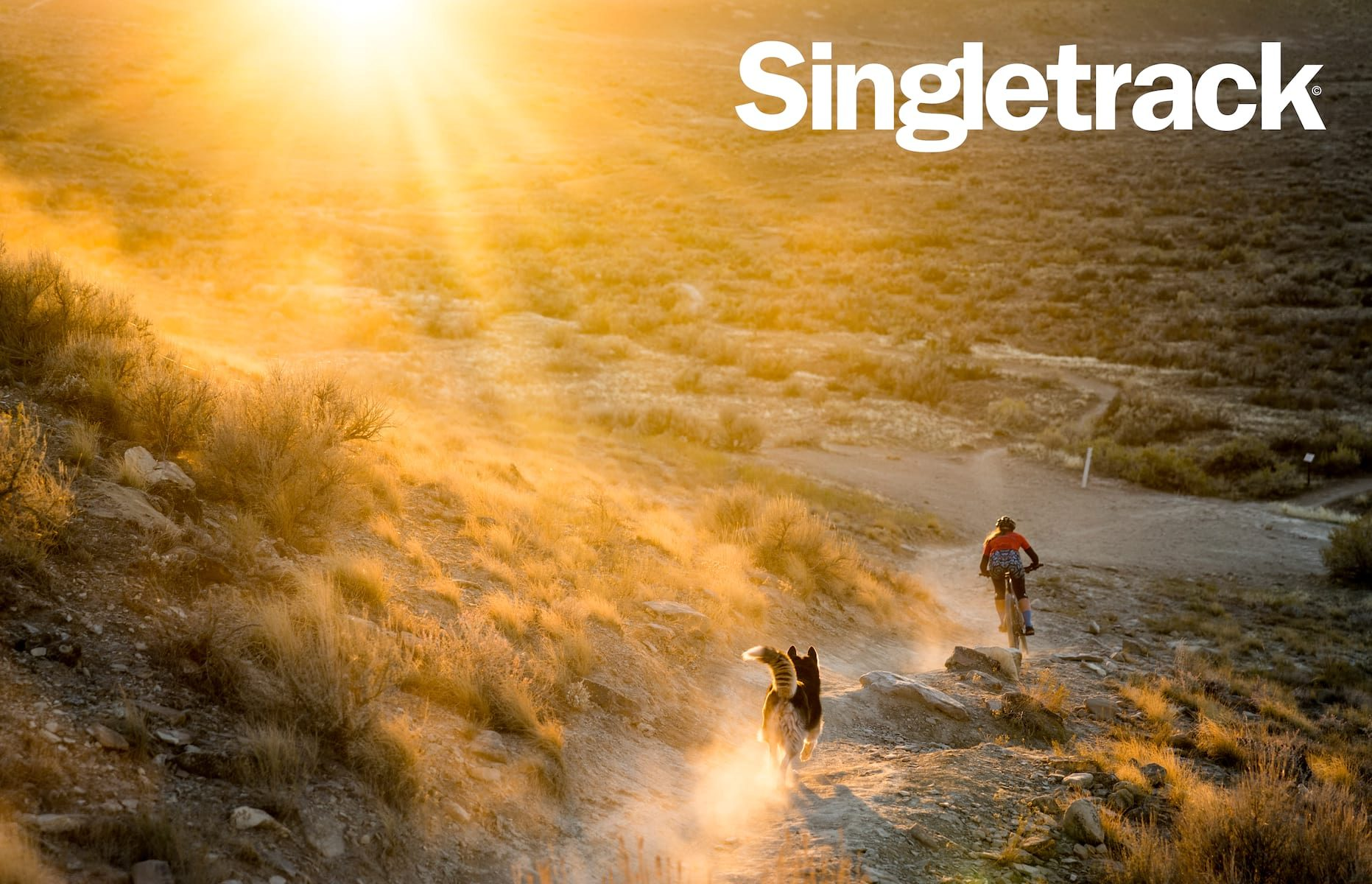 singletrack issue 124 cover landscape