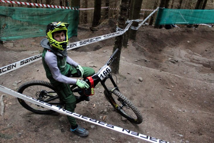 Making Up The Numbers George Thompson Downhill English Champs