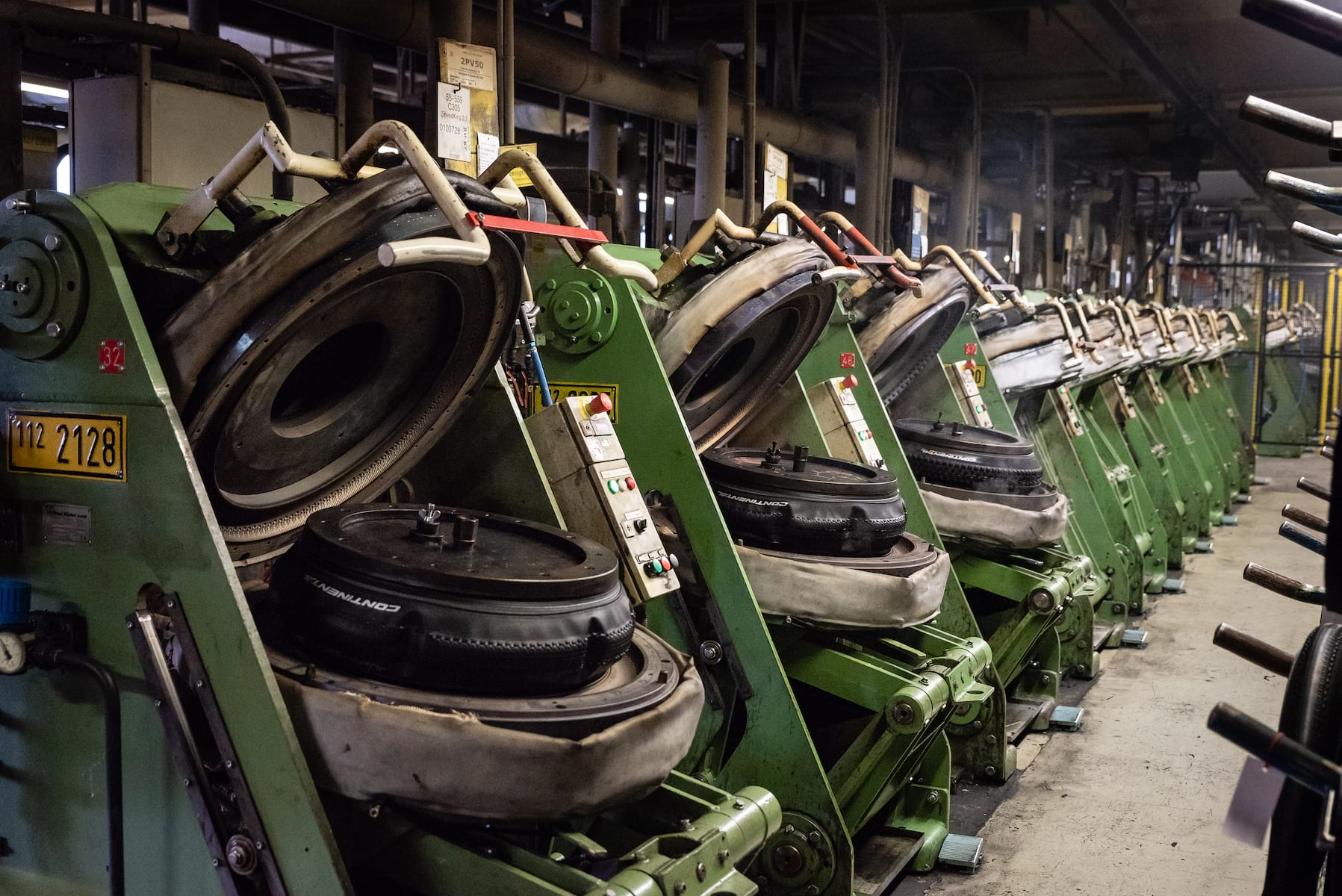 tyre ovens continental factory