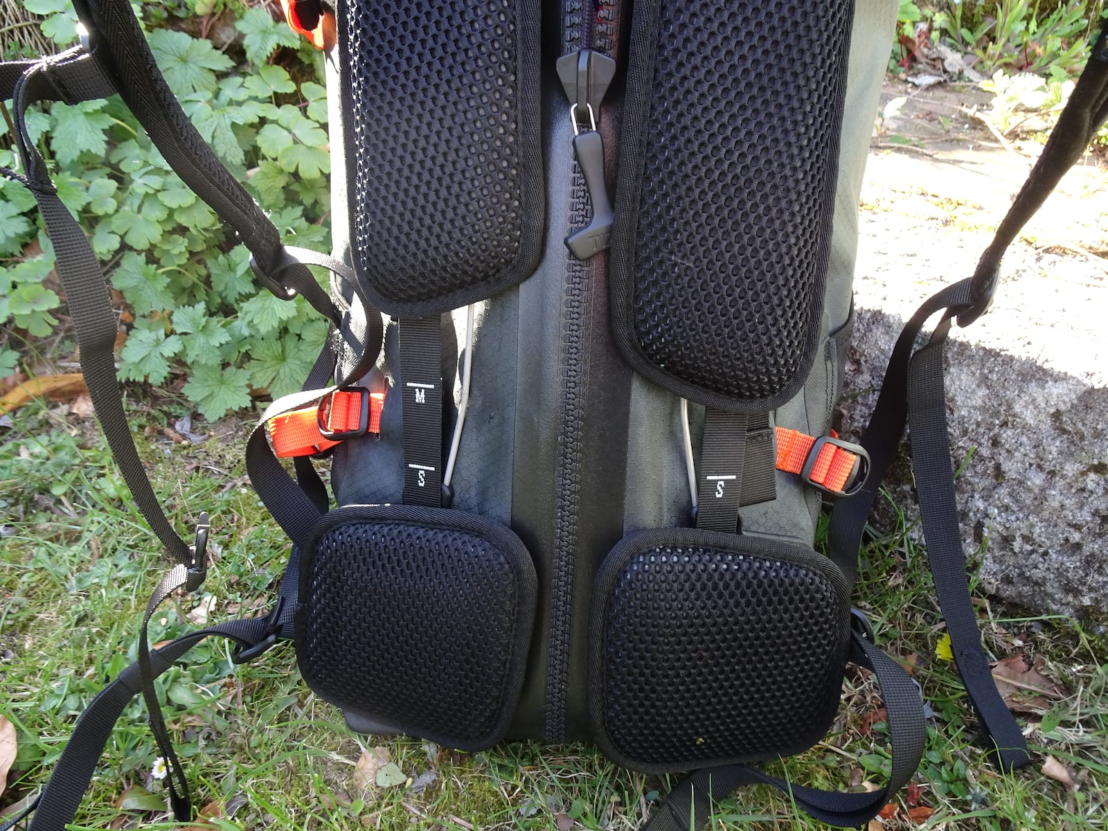 Ortlieb Atrack BP pack Adjustment