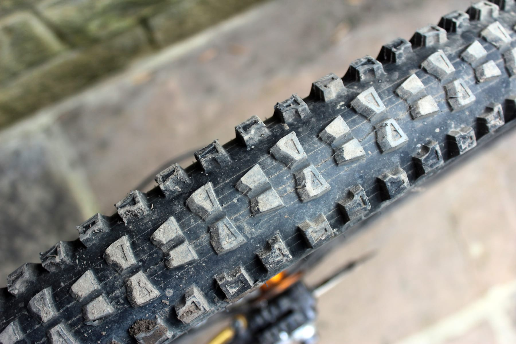 Hutchinson Griffus Rear Tyre After Ride