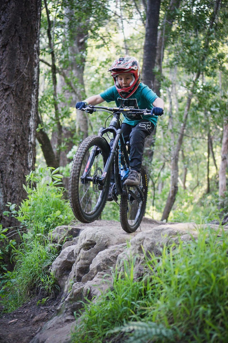 hayes junit, kids mountain bike components, sea otter 2019