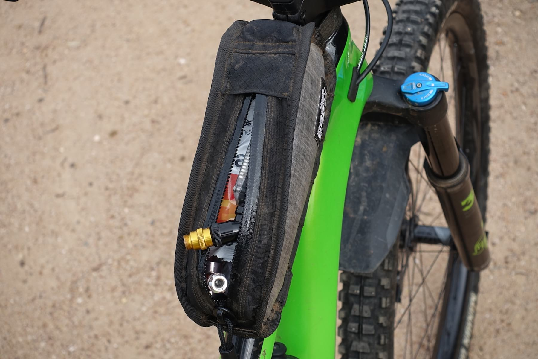 Review | The Top Tube Mini Garage Pack from Bike Bag Dude