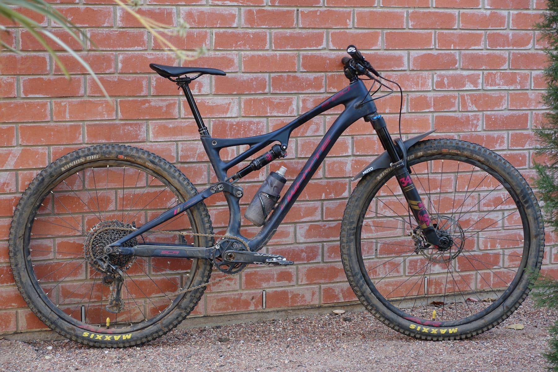 83bcbe55d67 On Board | Testing The Raucous 2019 Whyte S-120 C RS - Singletrack ...