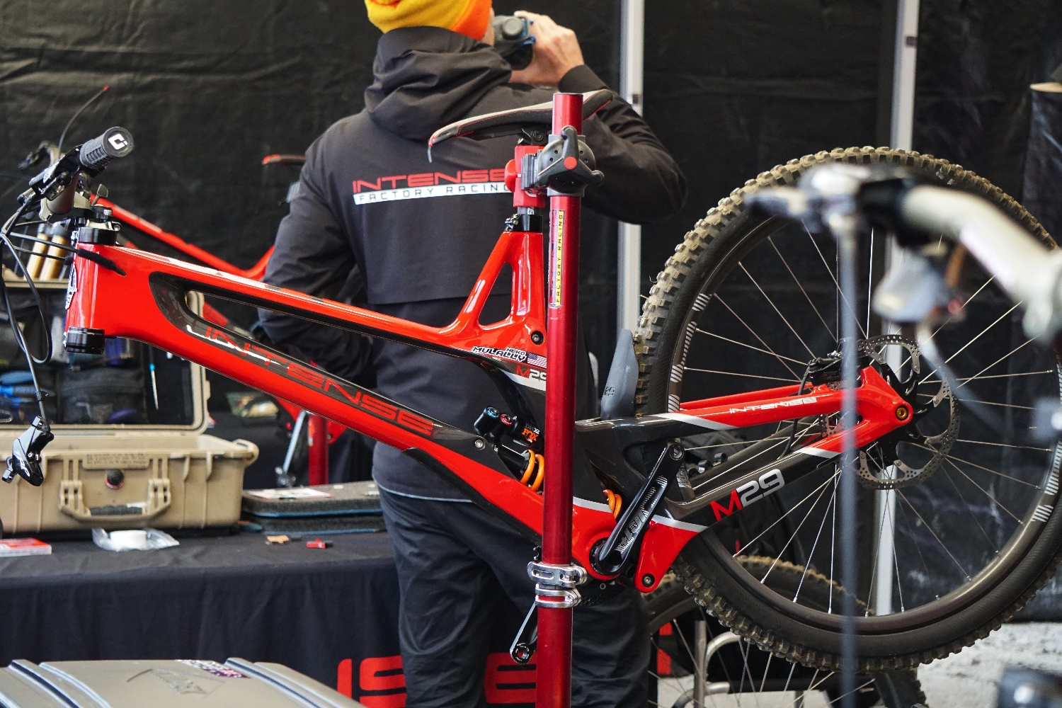 Day 1 2019 Fort William DH World Cup: Spied in the pits