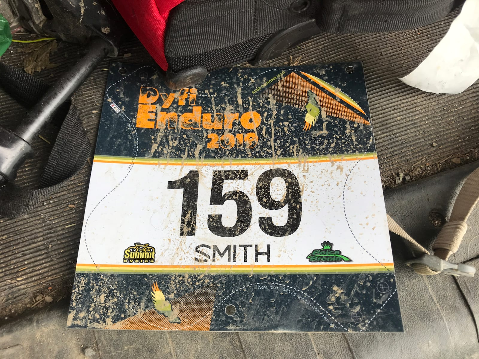 dyfi enduro 2019 numberplate