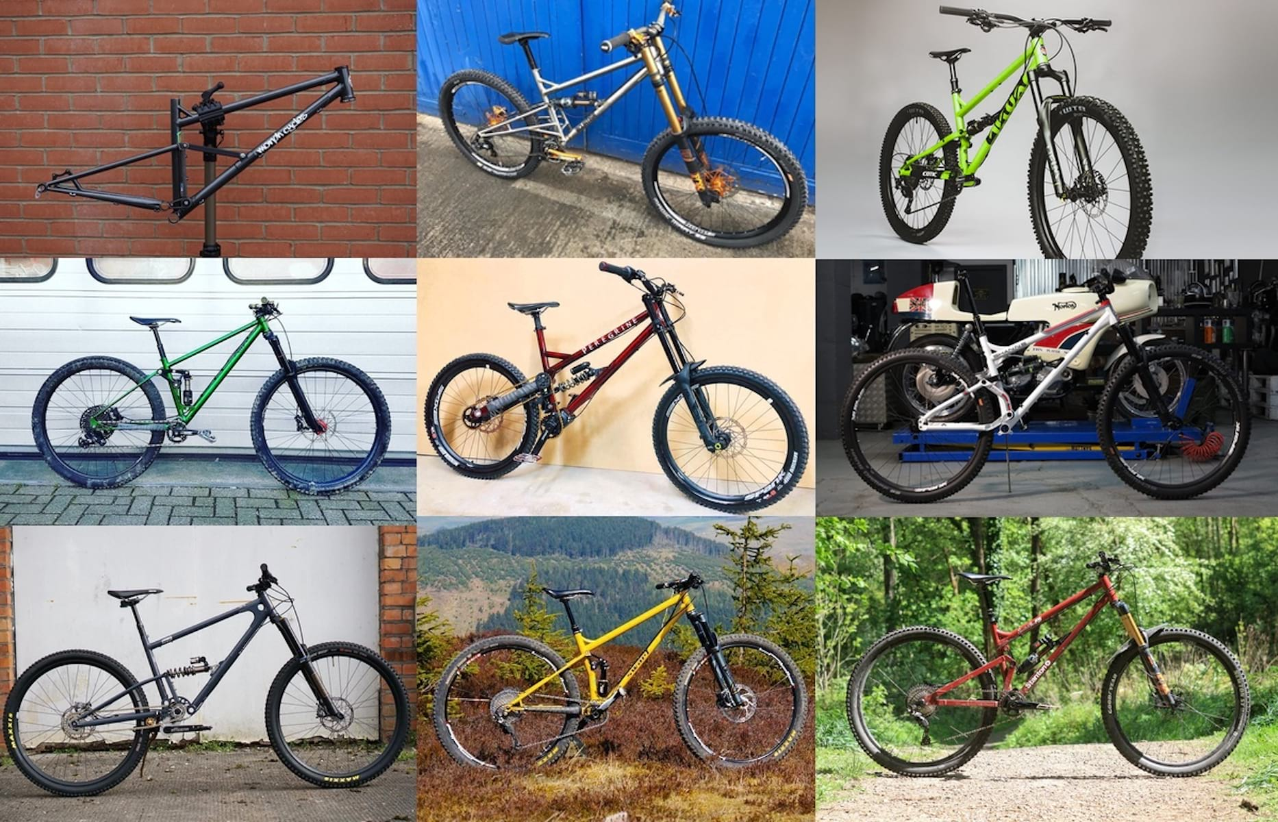 10 more steel full suspension bikes