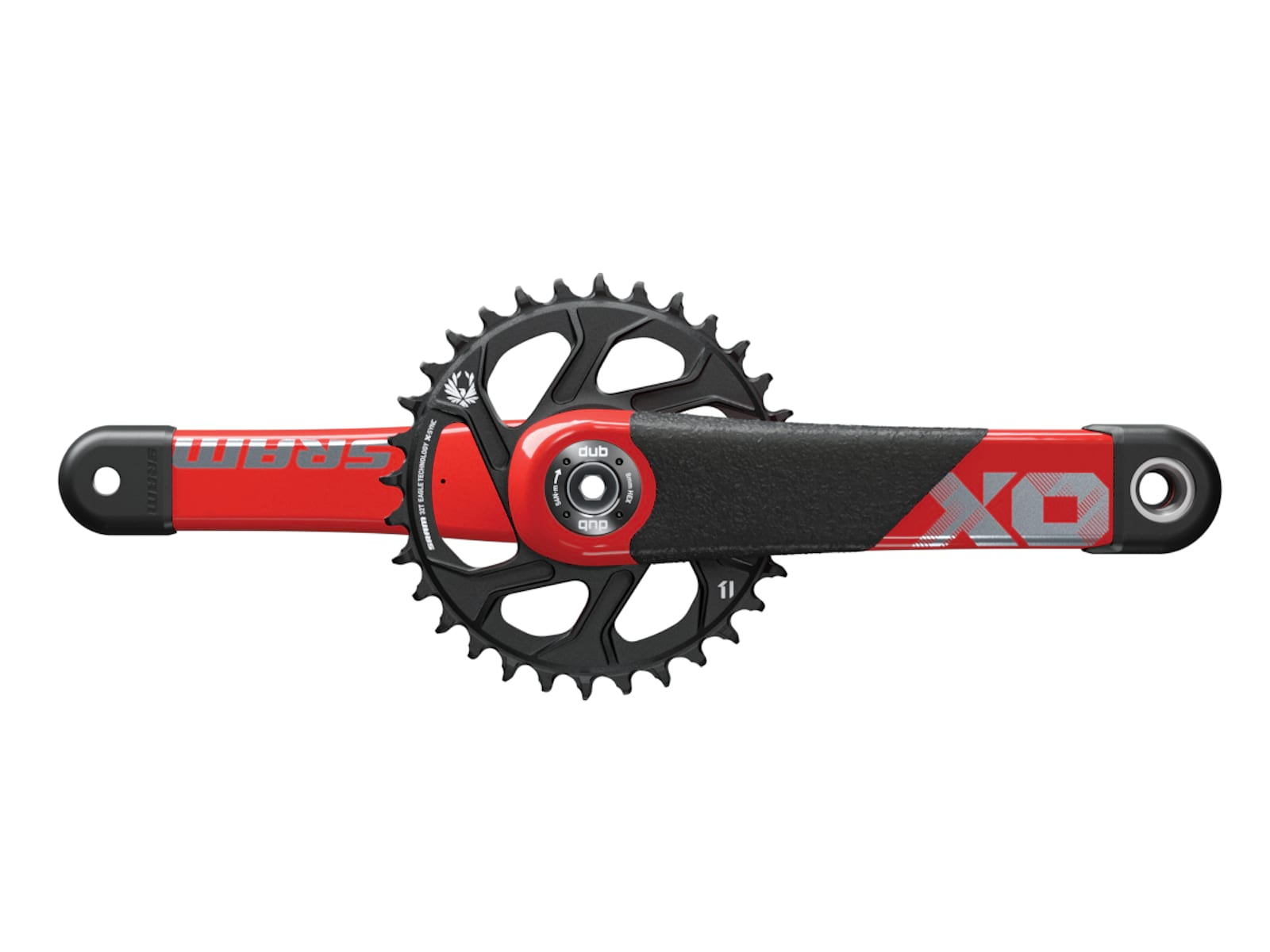 New XO1 cranks with added protection.