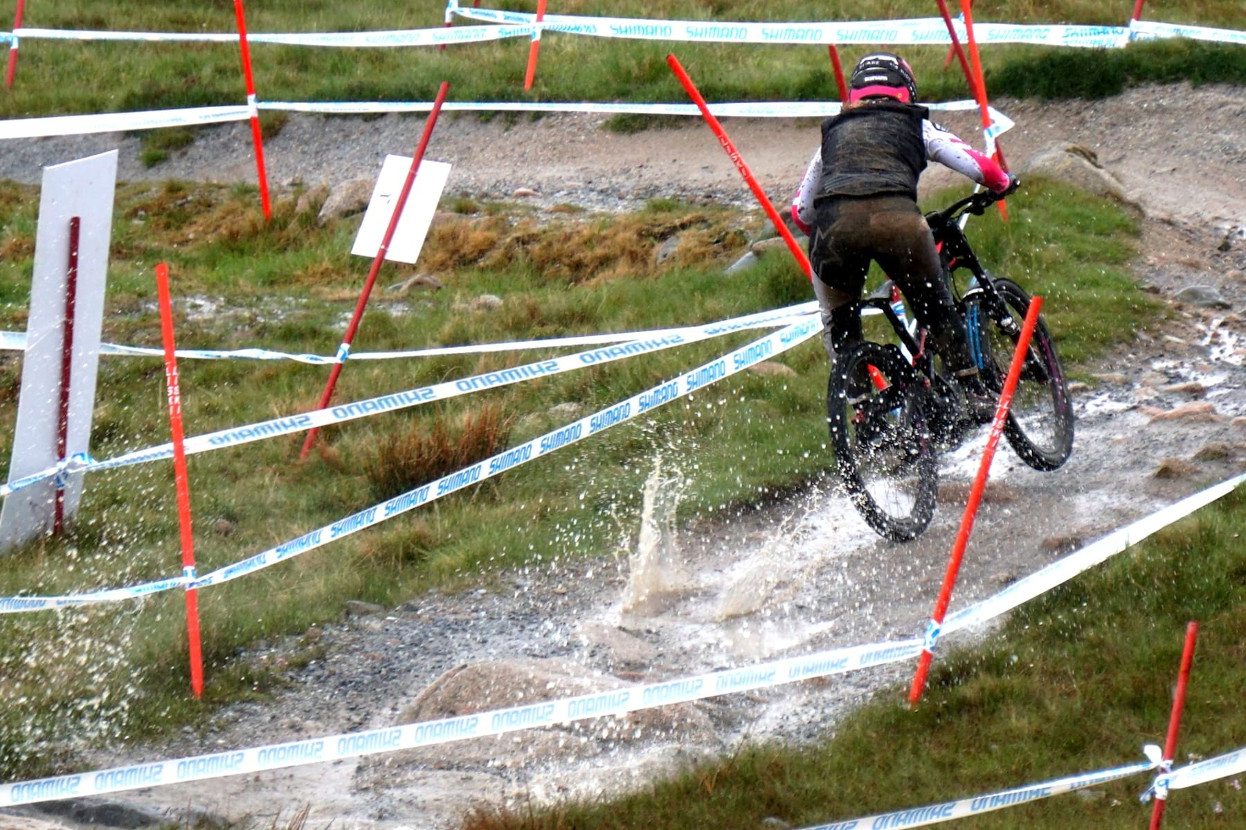 fort william world cup 2019 wet muddy race