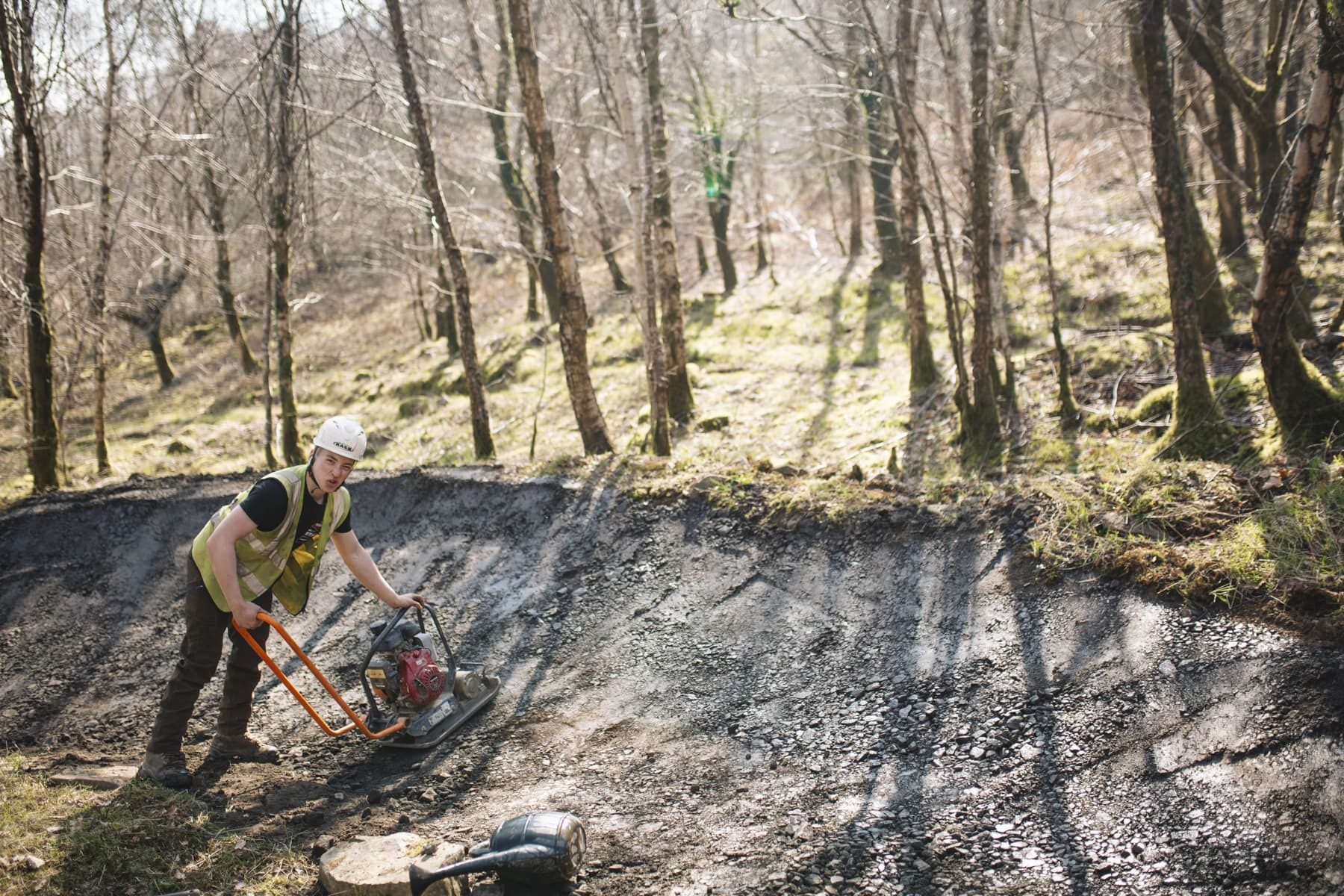 there's a lot more to running BikePark Wales than just keeping the trails smooth and buses flowing, so we headed to the centre and took a look behind the scenes on a typical Friday just as spring started to show.