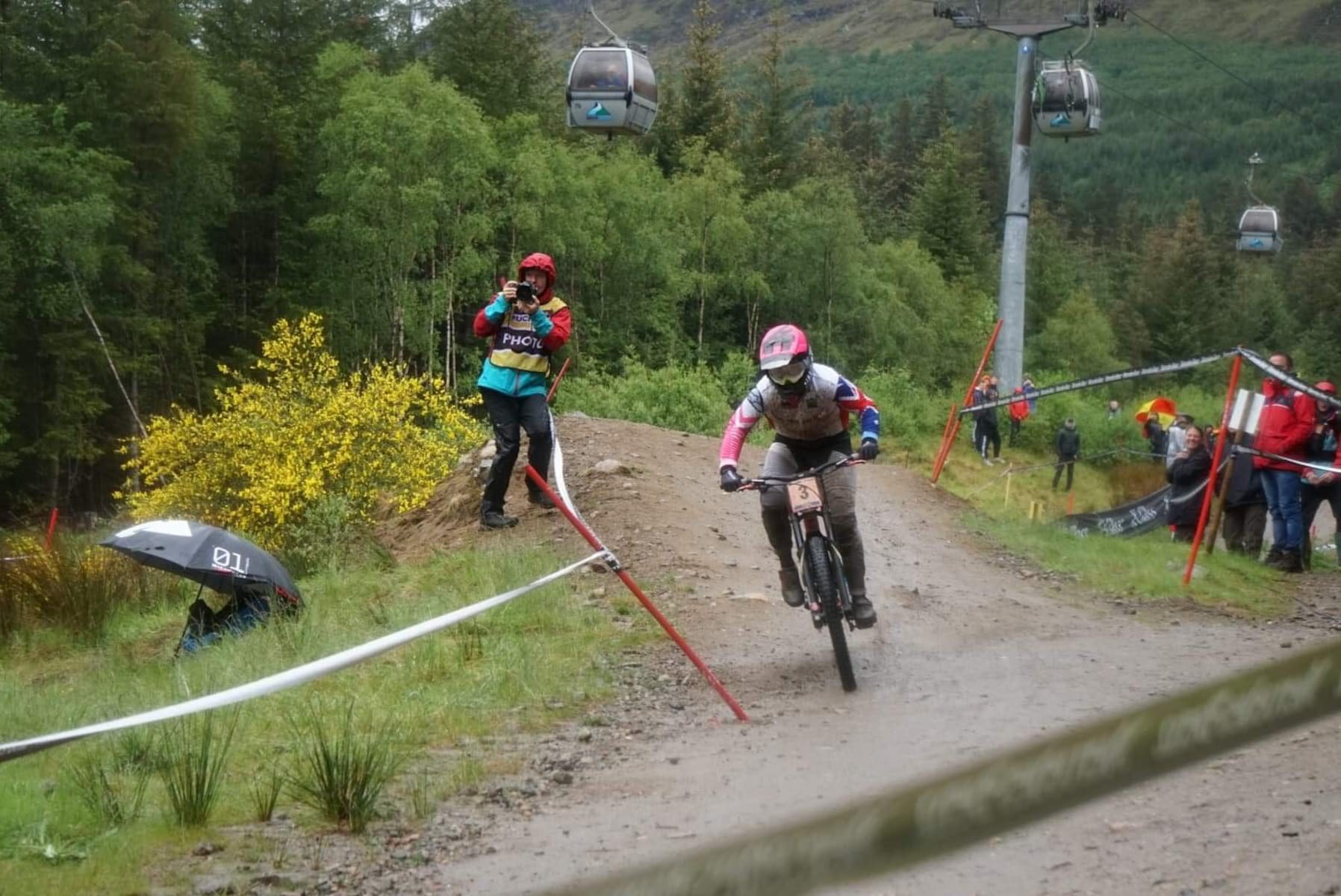 tracey hannah 2019 fort william world cup