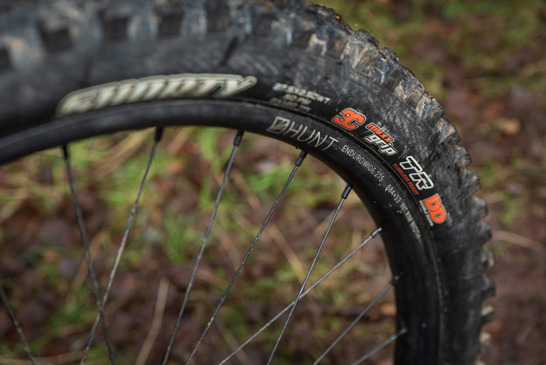 hunt enduro wheels maxxis shorty