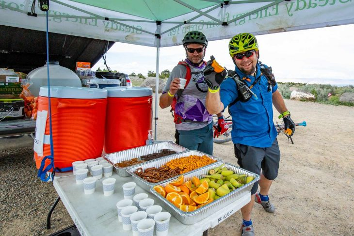 grand junction off-road colorado food aid station