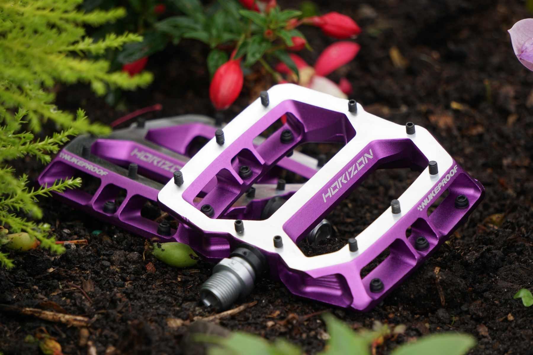 NukeProof Horizon Pro Purple Flat Pedals