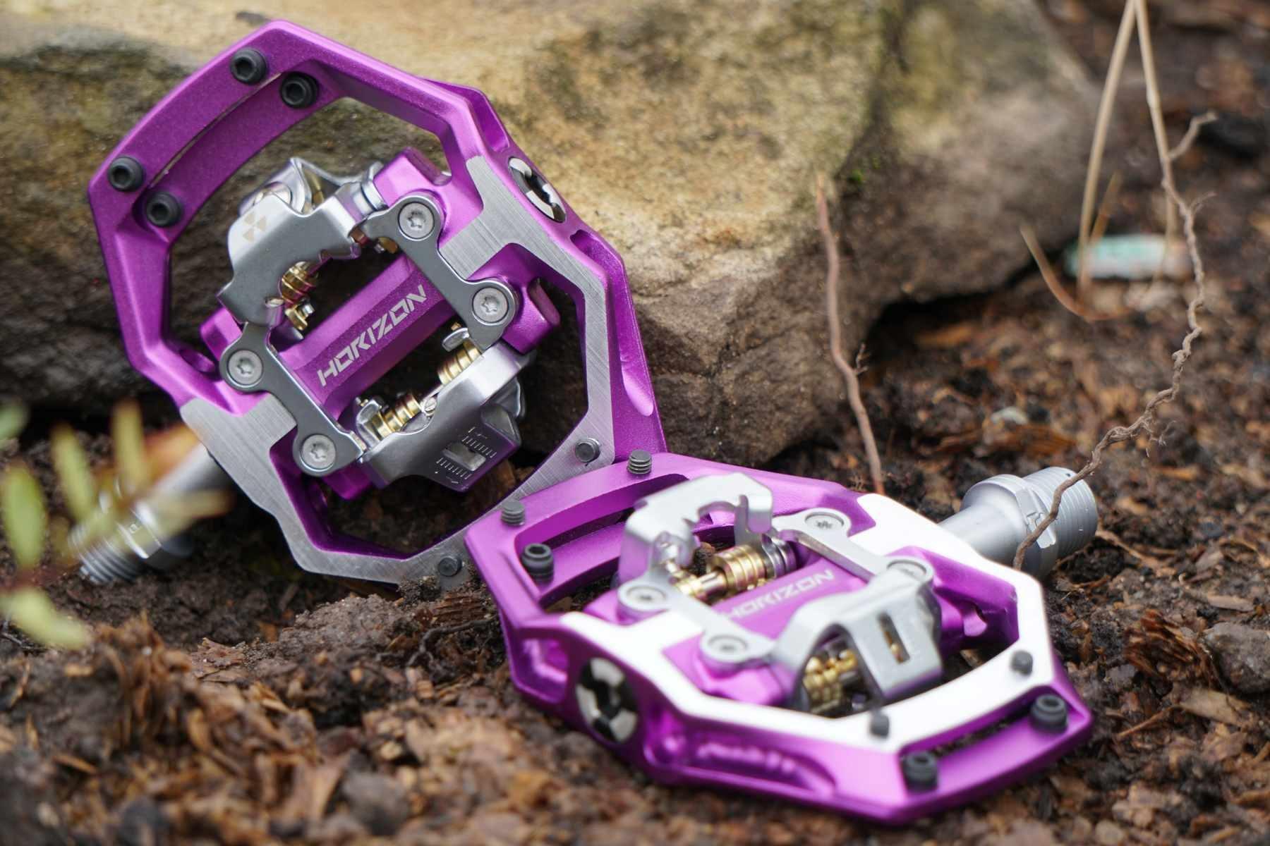 NukeProof Horizon Purple SPD pedals