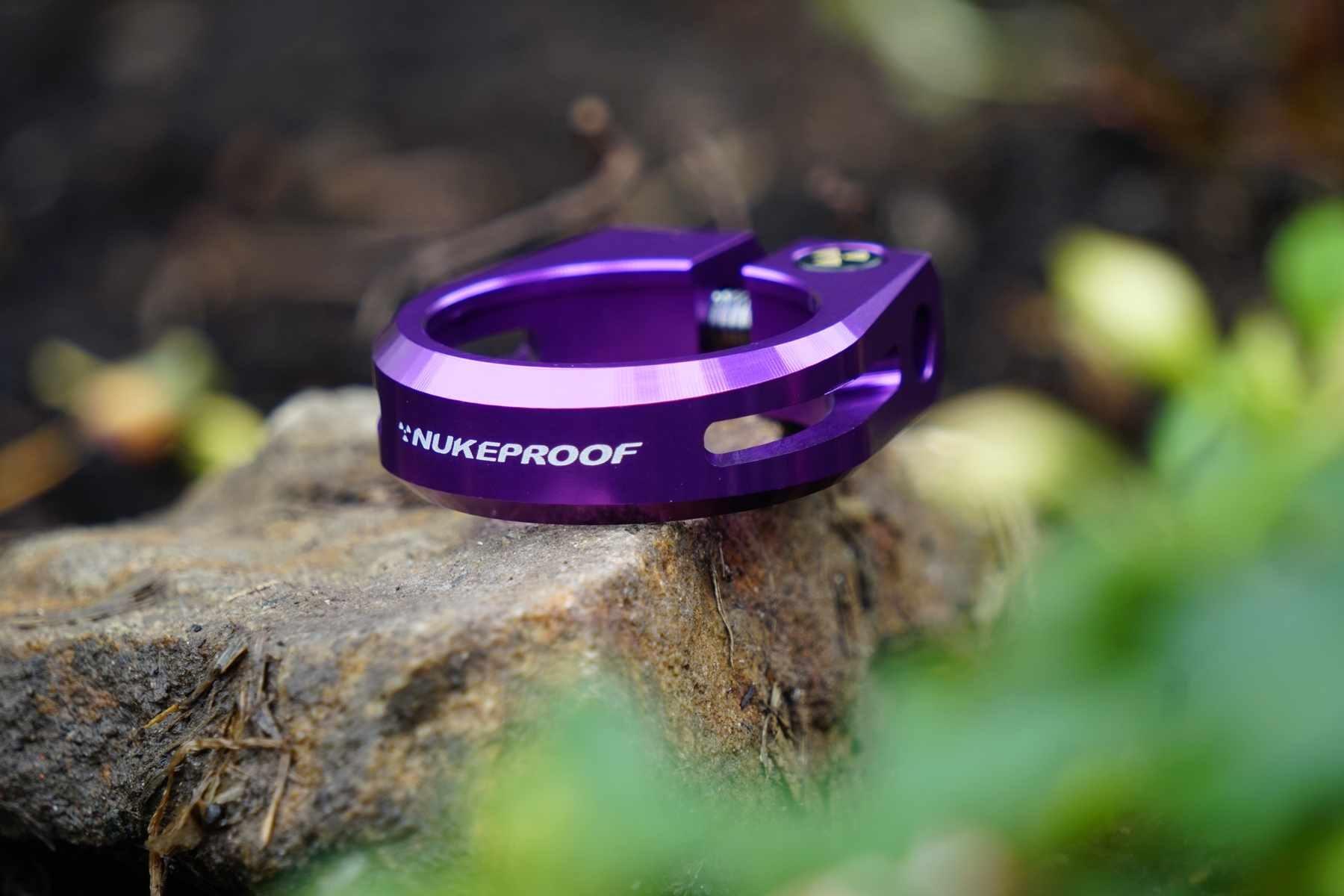 NukeProof Horizon Purple Seatpost Clamp