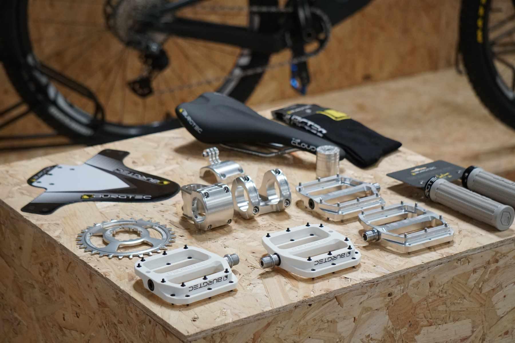 Burgtec components silver