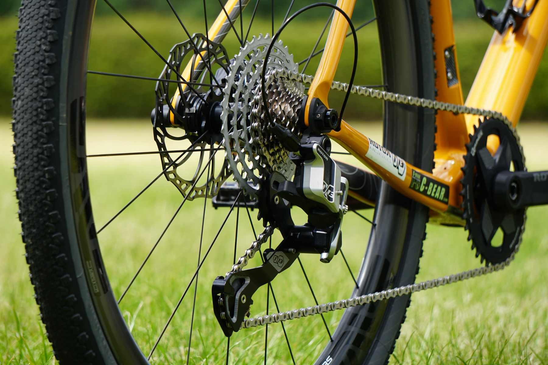 rotor 13 speed drivetrain 1x13 singletrack