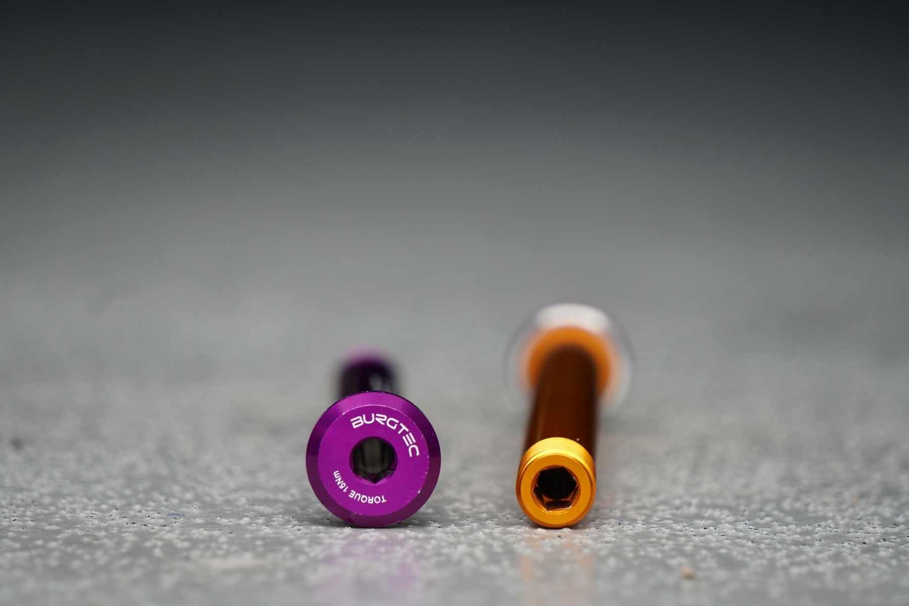 Burgtec components axles