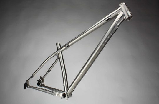 Stanton Bikes now making customisable Titanium hardtails in the UK