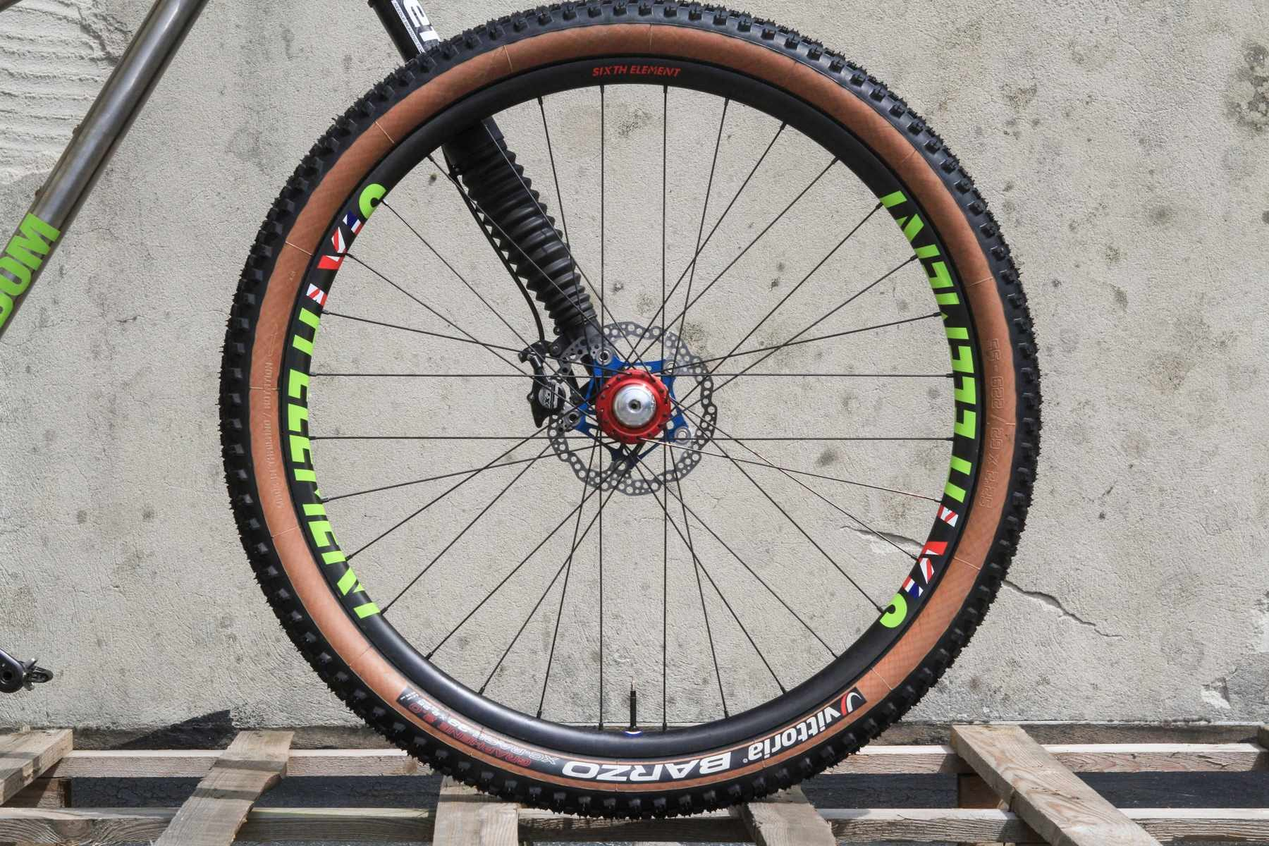 Olympic MTB wheel sixth element pro xc