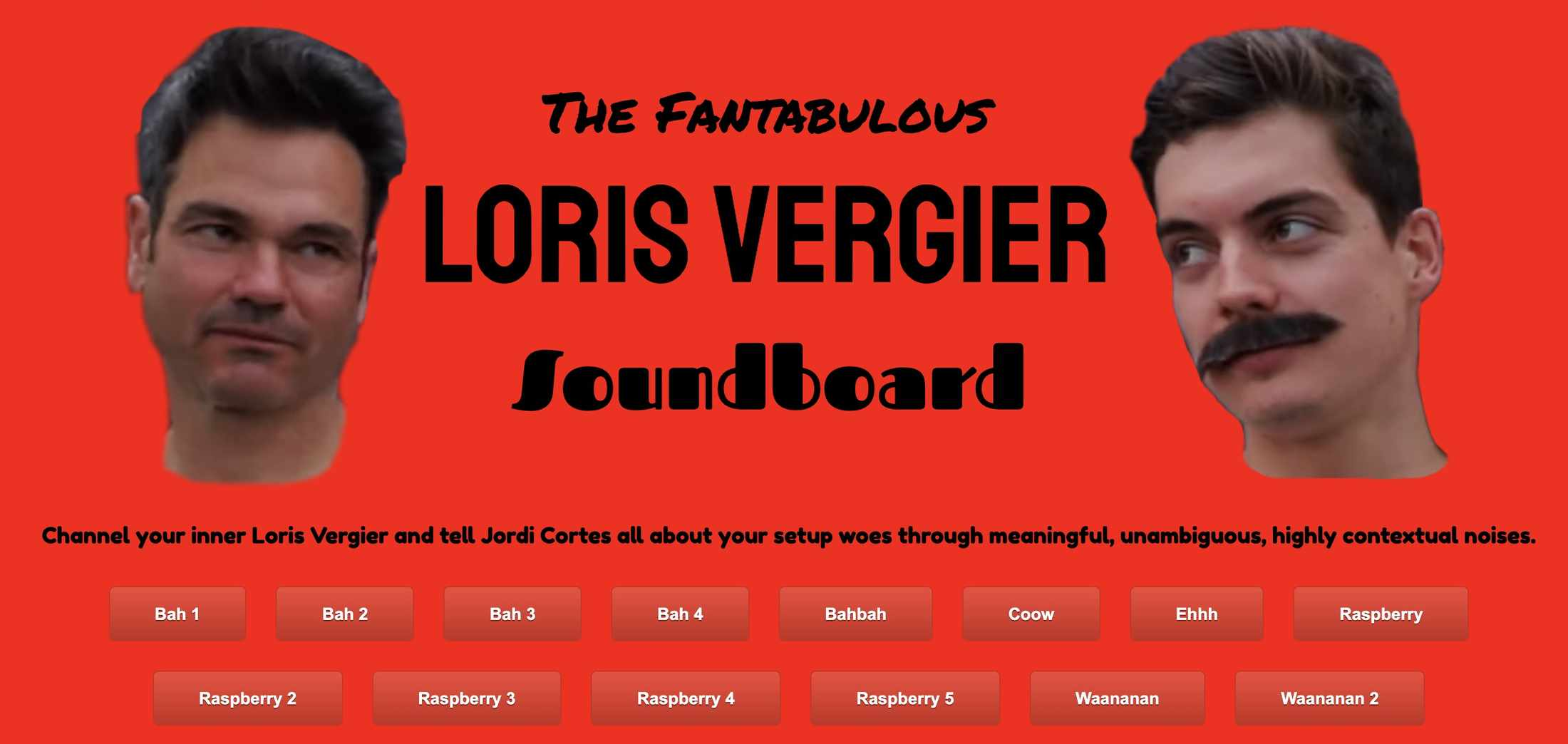 loris vergier sound board