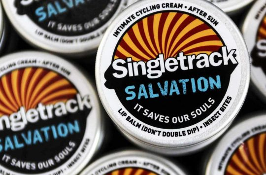 singletrack salvation saddle sore chamois cream