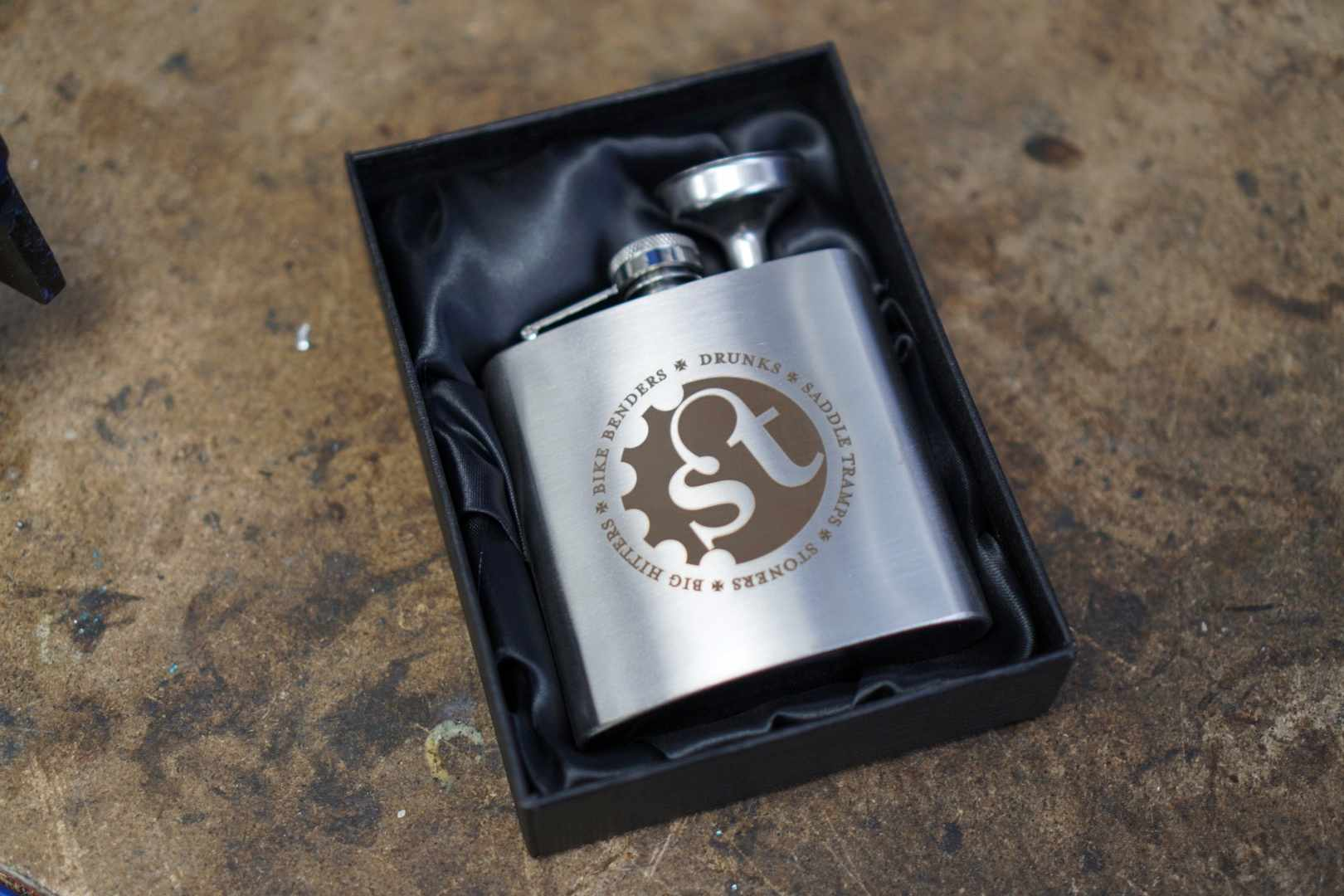 Singletrack Desperation Hip Flask