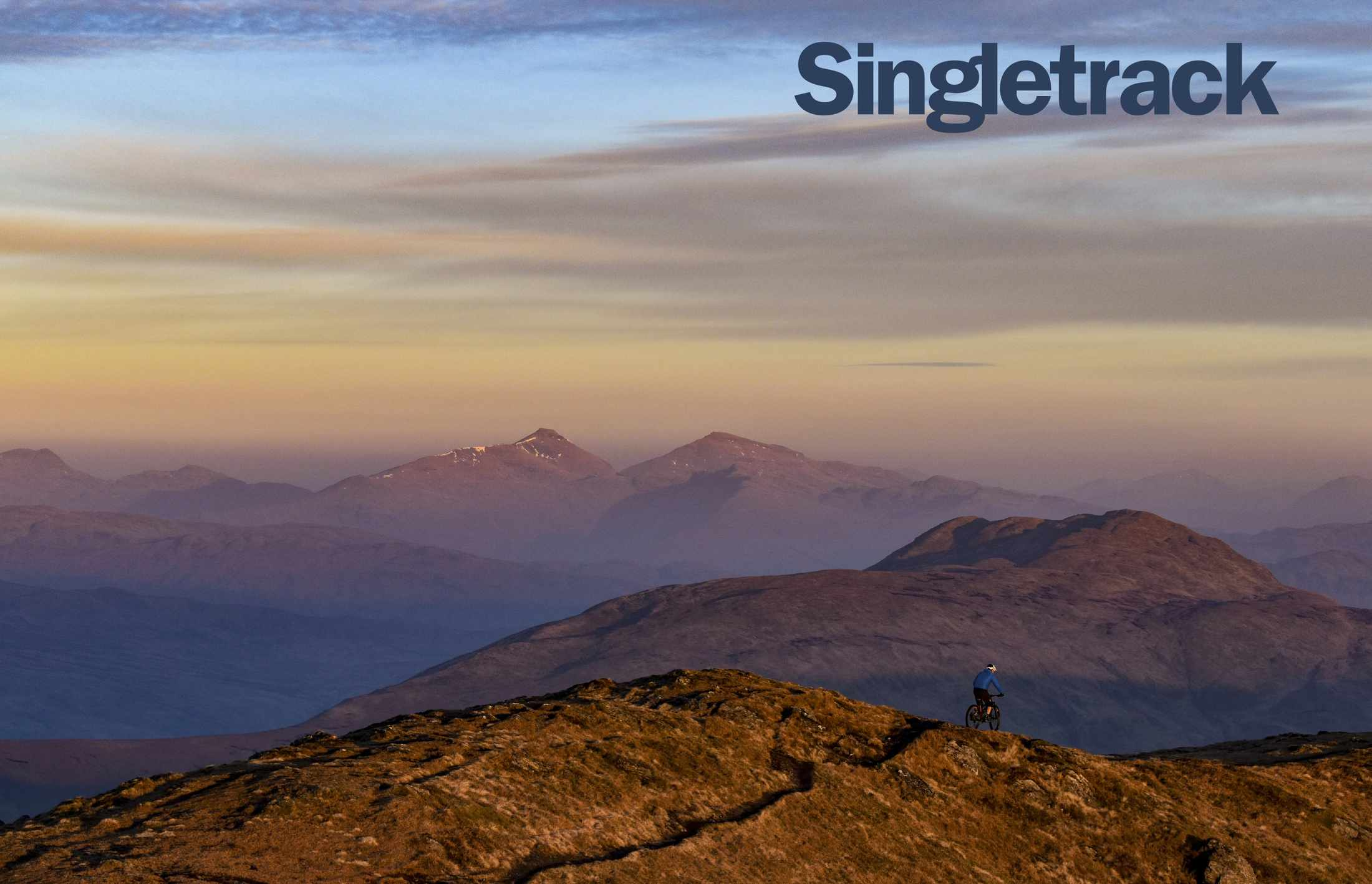 singletrack issue 127 cover landscape david gould