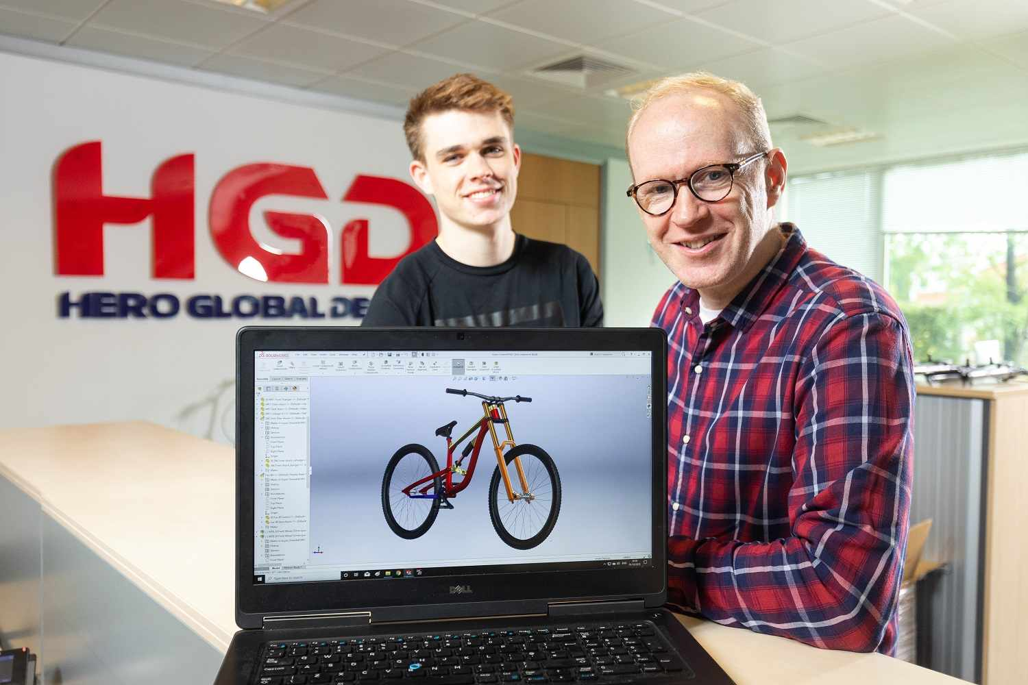 InSync Racing is developing a new DH Race bike in Manchester