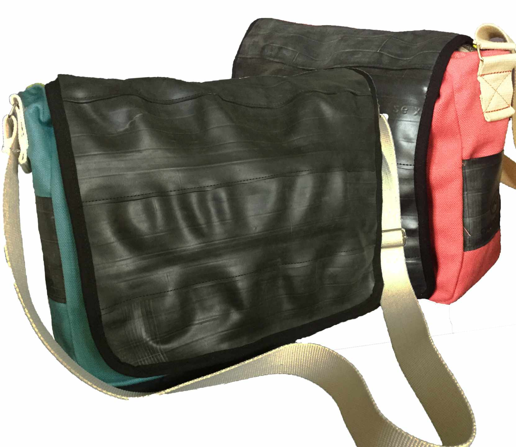 recycled courier bag